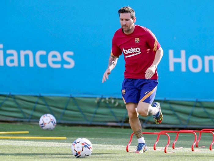 Gagal Hengkang, Messi Kembali Latihan dengan Barcelona