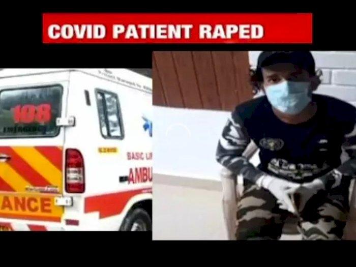 Begini Kronologi Lengkap Pemerkosaan Pasien Covid-19 oleh Sopir Ambulans