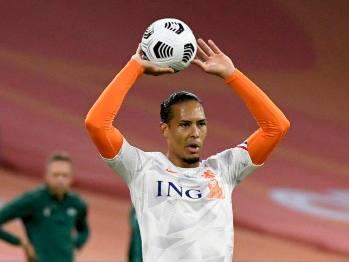 Atas Kekalahan Belanda dari Italia, Van Dijk: Itu Pertandingan Buruk Kami