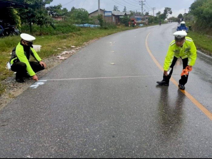 Telah Terjadi Kecelakaan Lalu Lintas di Tapanuli Utara, Seorang Pengendara Tewas
