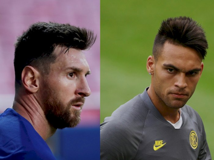 Zanetti Klaim Inter dan Barcelona Tidak Pernah Bahas Transfer Messi atau Lautaro
