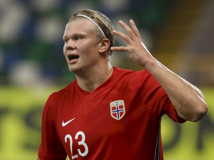 Erling Haaland Bahas Kemungkinan Pindah ke Premier League Usai Kemenangan Norwegia