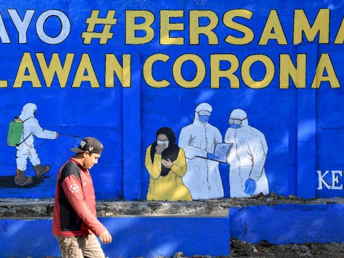 Pulau Jawa dan Bali Sumbang 64,26 Persen Kasus COVID-19