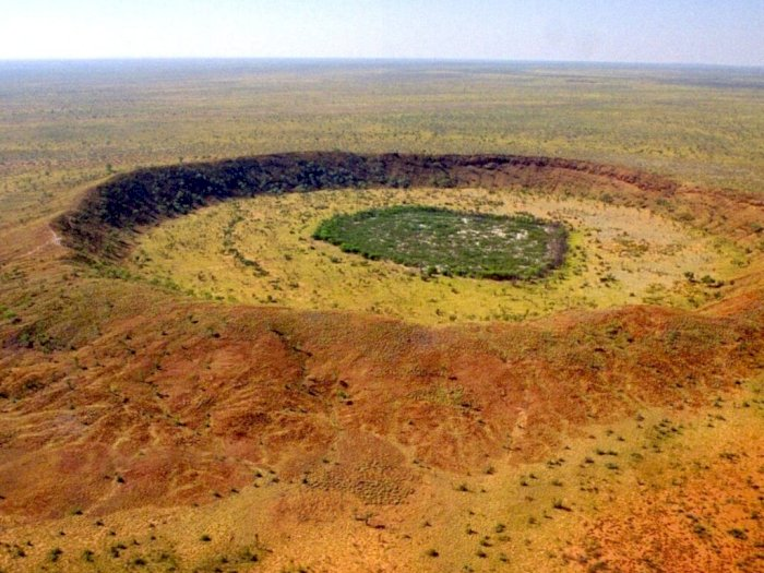 Penemuan Kawah Meteorit Berusia 100 Juta Tahun di Australia