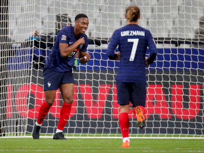 FOTO: UEFA Nations League: Perancis 4-2 Kroasia