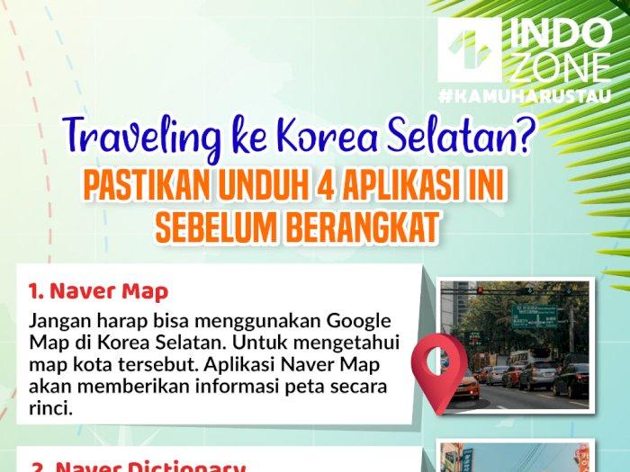 Traveling ke Korea Selatan? Pastikan Unduh 4 Aplikasi Ini