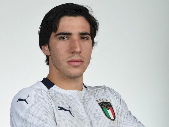 Tonali Posting Foto Masa Kecil Berkaos  AC Milan, Sinyal Pindah dari Brescia?