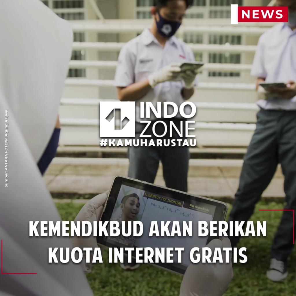 Kemendikbud akan Berikan Kuota Internet Gratis