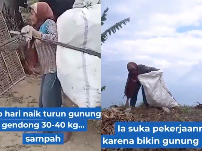 Kisah Inspiratif Mbah Bingah yang Selalu Naik Turun Gunung Merbabu Gendong 40 Kg Sampah