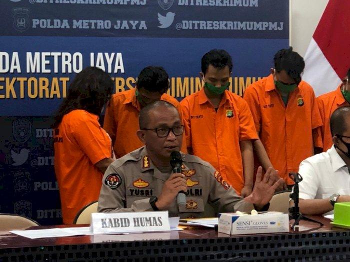 Satu Keluarga Sindikat Pencuri Motor Diciduk Polisi, Sering Beraksi di Jakarta