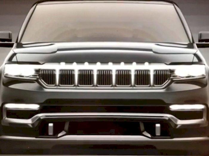 Melihat Lampu Ventilasi dari Mobil Jeep Grand Wagoneer Saat Dihidupkan