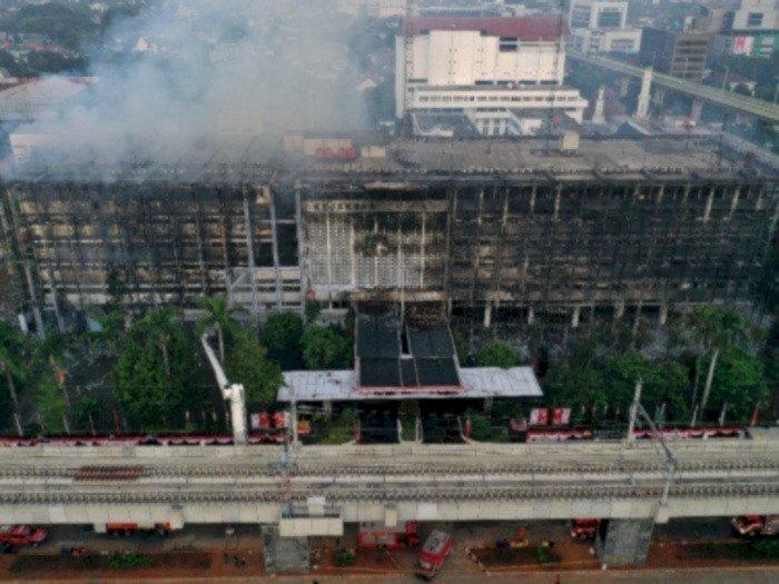 2 Pekan Lebih Kasus Kebakaran Kejagung Tak Kunjung Terungkap, Ini Kata Mabes Polri