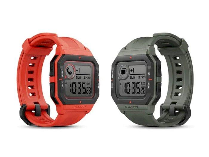 Huami Luncurkan Smartwatch Amazfit Neo dengan Tampilan Retro