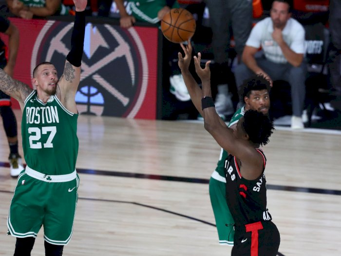 FOTO: Toronto Raptors Menang atas Boston Celtics 122-125