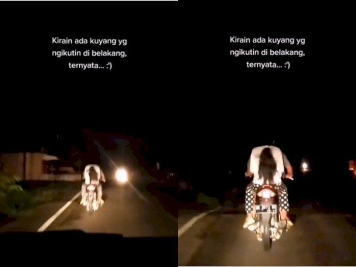Dikira Hantu, Ternyata Cuma Rambut Cewek yang Lagi Boncengan, Netizen Hampir Kaget