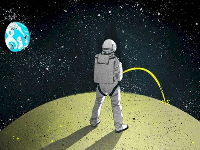 Urin Astronot, Cairan Berharga di Luar Angkasa untuk Bahan Bangunan