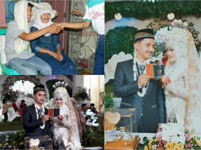 Saat SMP Iseng Pura-pura Jadi Pengantin, Sekarang Pasangan Ini Jadi Suami Istri Beneran