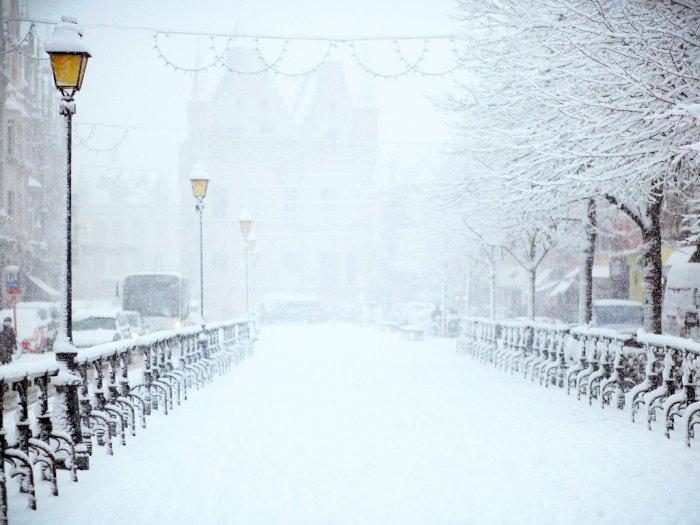 Cuaca Ekstrem! Salju Setebal 17 Inci Tutupi Negara Bagian AS Ini