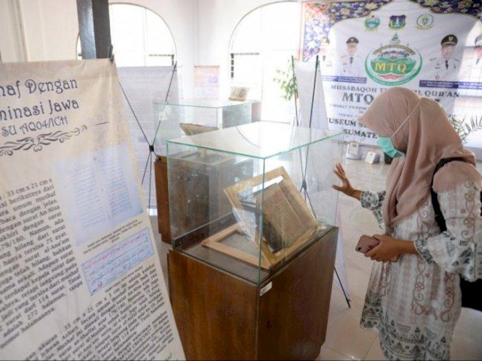 Bikin Penasaran, Ada Al-Quran Tertua Dipamerkan di MTQ ke-37 Sumut