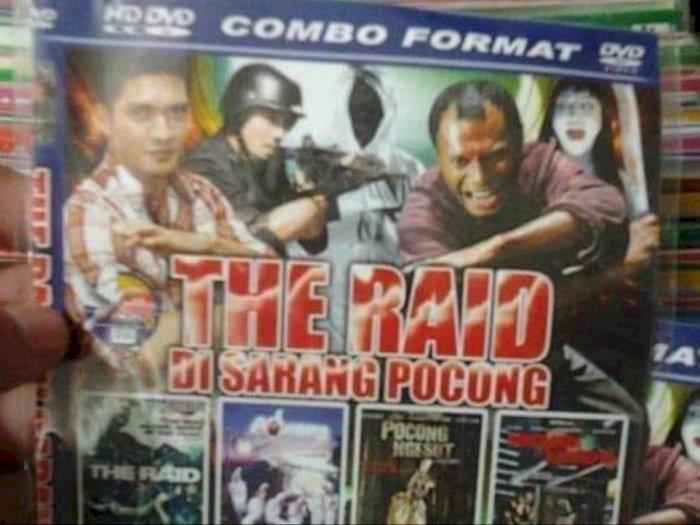 Beredar Gambar DVD Bajakan 'The Raid di Sarang Pocong', Netizen Auto Ngakak