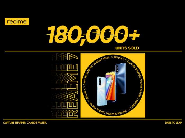 Realme Sukses Jual 180.000 Unit Realme 7 di Penjualan Pertamanya!