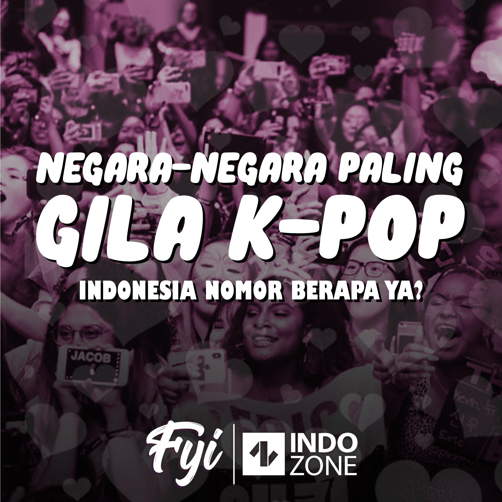 Negara-Negara Paling Gila K-pop