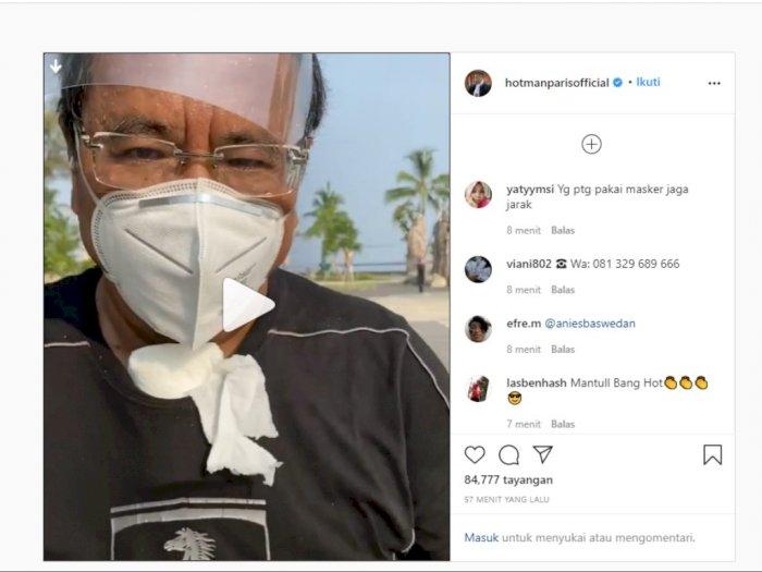 PSBB di DKI Jakarta, Apa Kata Hotman Paris?