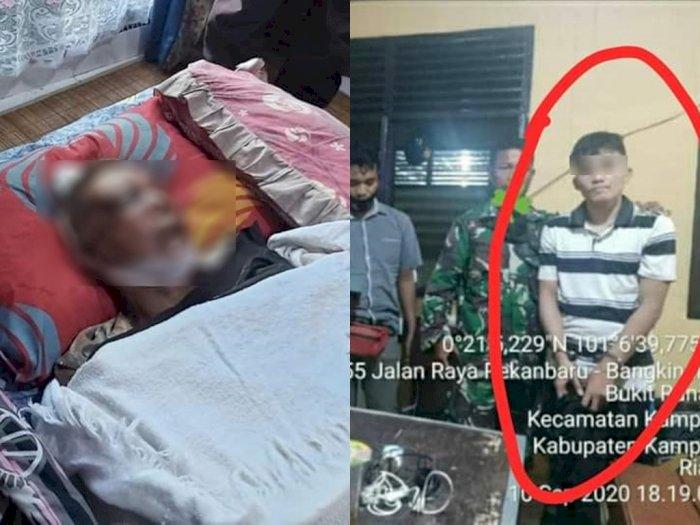 Kronologis Anak Durhaka yang Tega Membunuh Ayah Kandung Menggunakan Batako, Simak Kisahnya