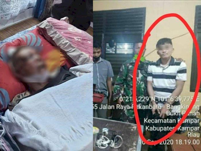 Anak Durhaka Bunuh Ayah Kandung Berusia 62 Tahun Pakai Batako, Polisi Periksa Kejiwaannya