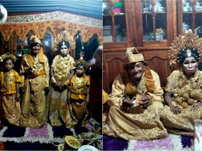 Heboh Pernikahan Kakek Nenek di Sulsel, Pengantin Wanita Masih Perawan Ting-ting