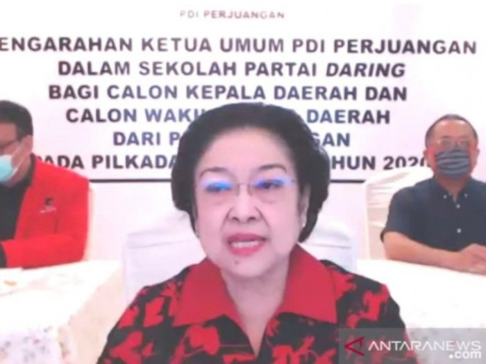 Megawati Sedih Kader Partainya Ditangkap Akibat Korupsi, 'KPK Itu Saya yang Buat'