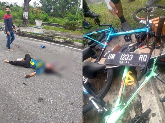 Tragis! Wanita Ini Tewas Ditabrak Pajero Sport saat Asyik Bersepeda, Pelaku Melarikan Diri