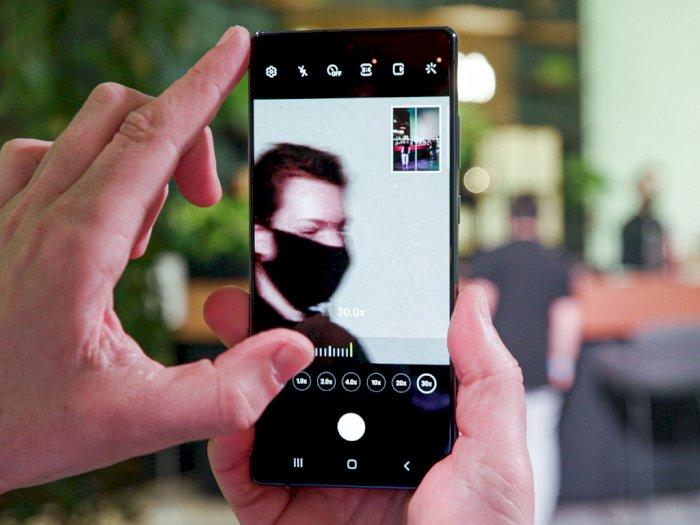 Samsung Bakal Umumkan Teknologi Kamera Bawah Layar di Tahun Depan!