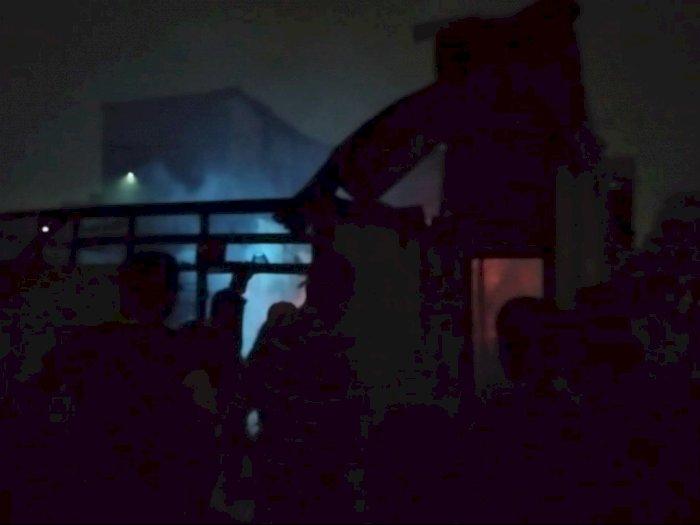 Perumnas Mandala Kebakaran, 7 Rumah Habis Tak Bersisa