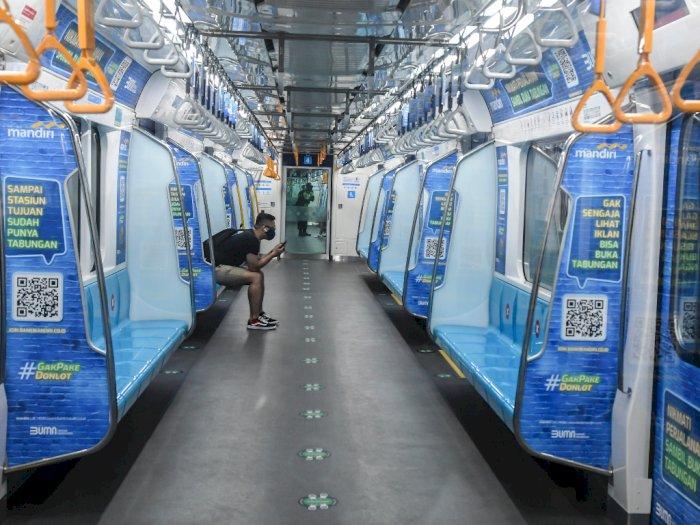 Mulai Hari Ini MRT Beroperasi Pukul 05.00 WIB Sampai 22.00 WIB