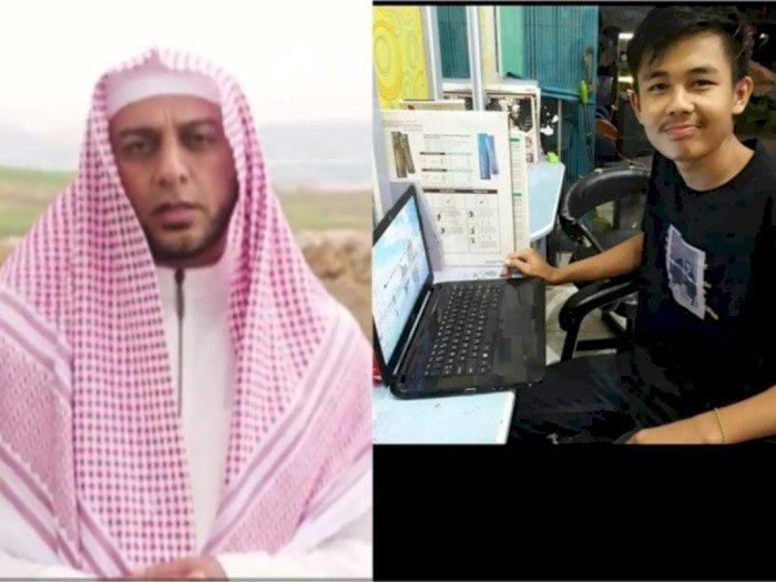 Ditikam di Lampung, Syekh Ali Jaber Terkena Tusukan 4cm dan 6 Jahitan