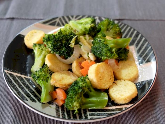 Menu Makan Malam, Tumis Tofu Brokoli Pedas