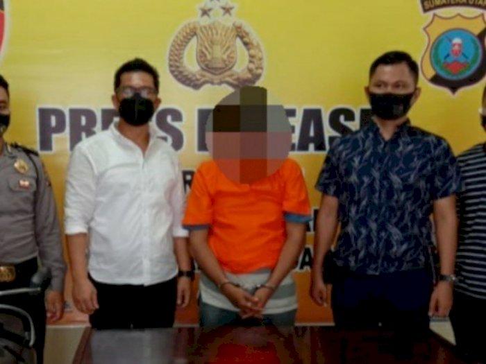Tengah Larikan Motor Curian, Pria Ini Malah Diringkus Polisi di Jalan SM Raja Medan