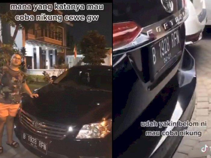 Pamer Mobil Mewah agar Pacarnya Tak Ditikung, Pria Diduga Anak Pejabat Ini Tuai Hujatan