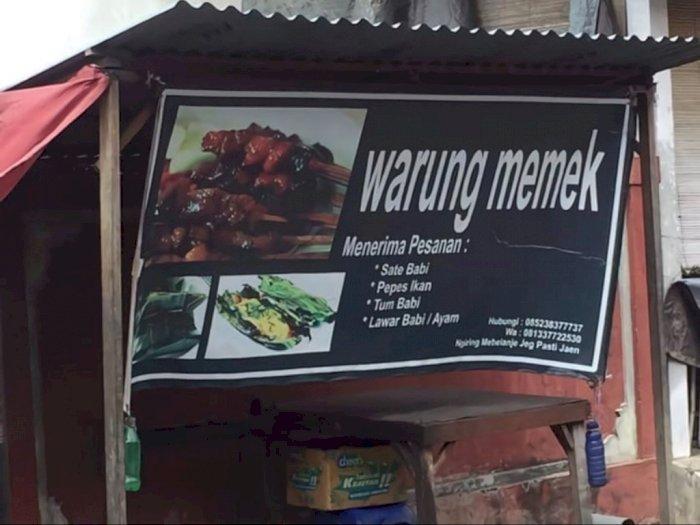Ada Warung Memek di Bali, Bikin Netizen Pengin Mampir, Memangnya Jual Apa?