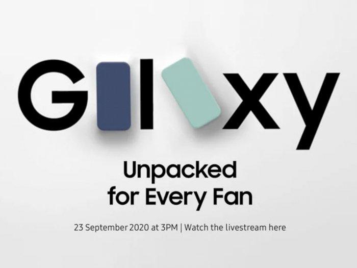 Samsung Bakal Rilis Galaxy S20 Fan Edition Tanggal 23 September Nanti!