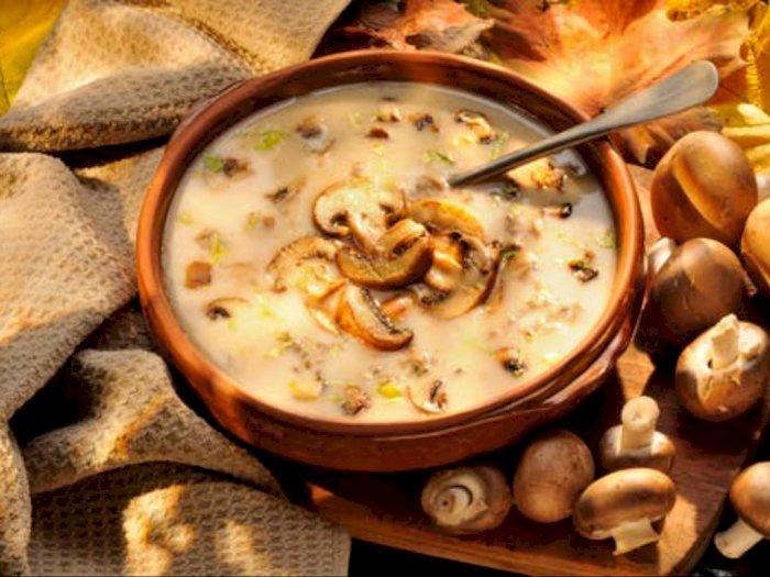 Resep Sup Jamur Lezat dan Kaya Nutrisi