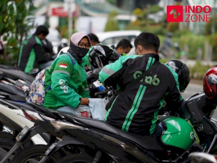 Dishub DKI Ancam Larang Ojol Angkut Penumpang Jika Ditemukan Berkerumun