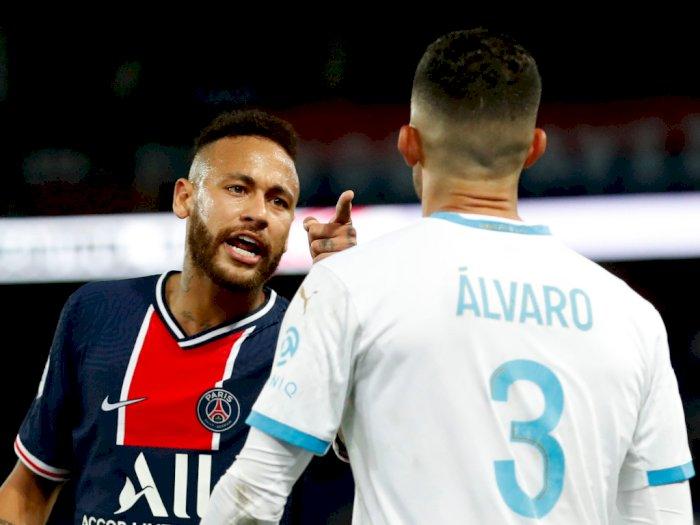 Dihadiahi Kartu Merah, Neymar Tuduh Alvaro Gonzalez Lakukan Rasisme