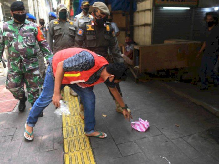 Tak Pakai Masker saat PSBB Total di Jakarta, Ini Sanksinya