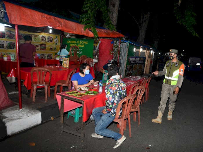 FOTO: Razia PSBB Total Jakarta