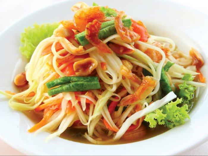Resep Sederhana Som Tom atau Salad Pepaya Khas Thailand