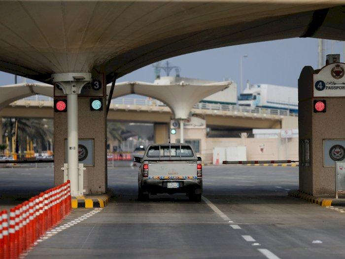 FOTO: Arab Saudi Melonggarkan Pembatasan Perjalanan Internasional COVID-19