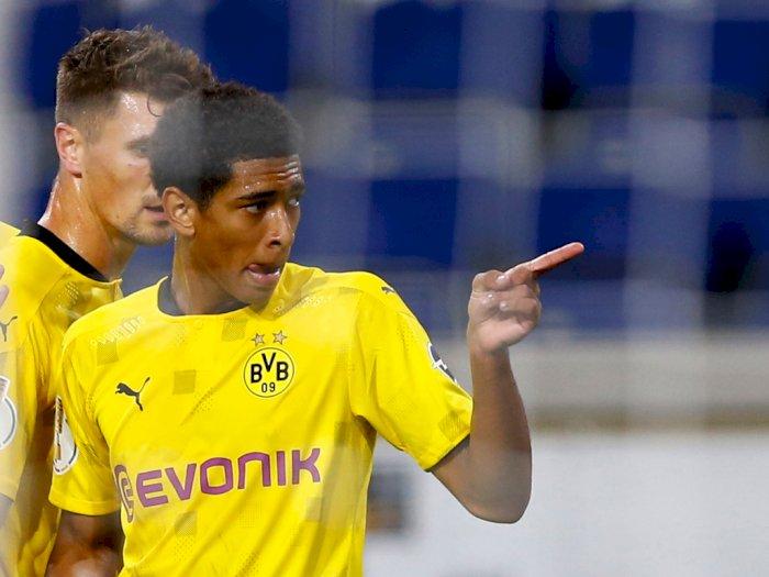 Jude Bellingham Ukir Rekor Jadi Pencetak Gol Termuda Dortmund
