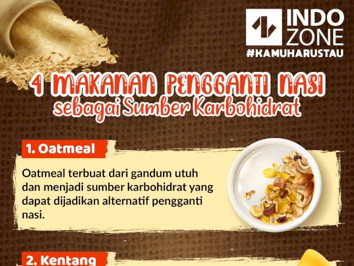 4 Makanan Pengganti Nasi sebagai Sumber Karbohidrat
